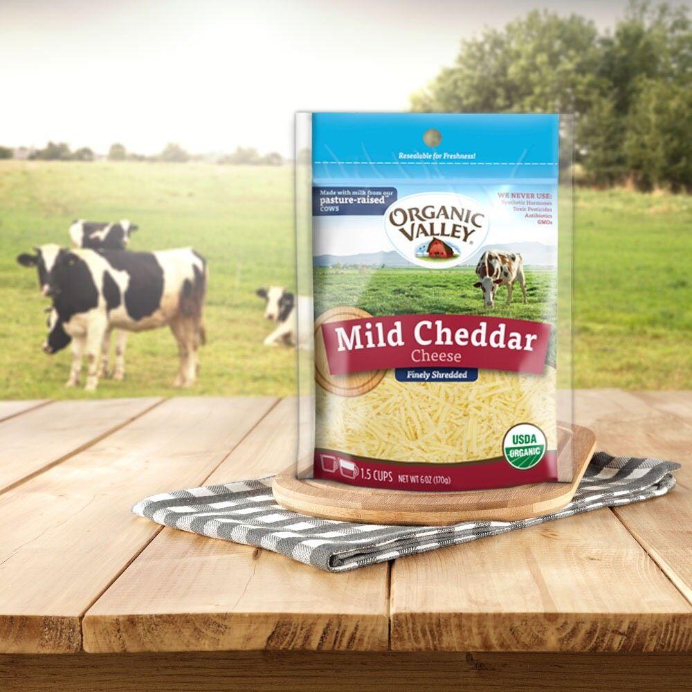 Organic Valleykb 有機切達乾酪絲